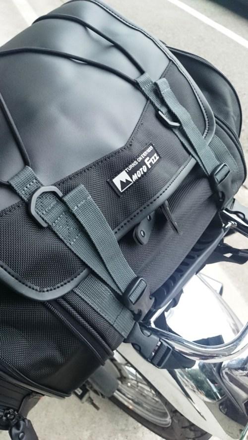 リリーのライダーズカフェ TANAX モトフィズ(Moto Fizz) ミニフィールドシートバッグ(ブラック)MFK-100