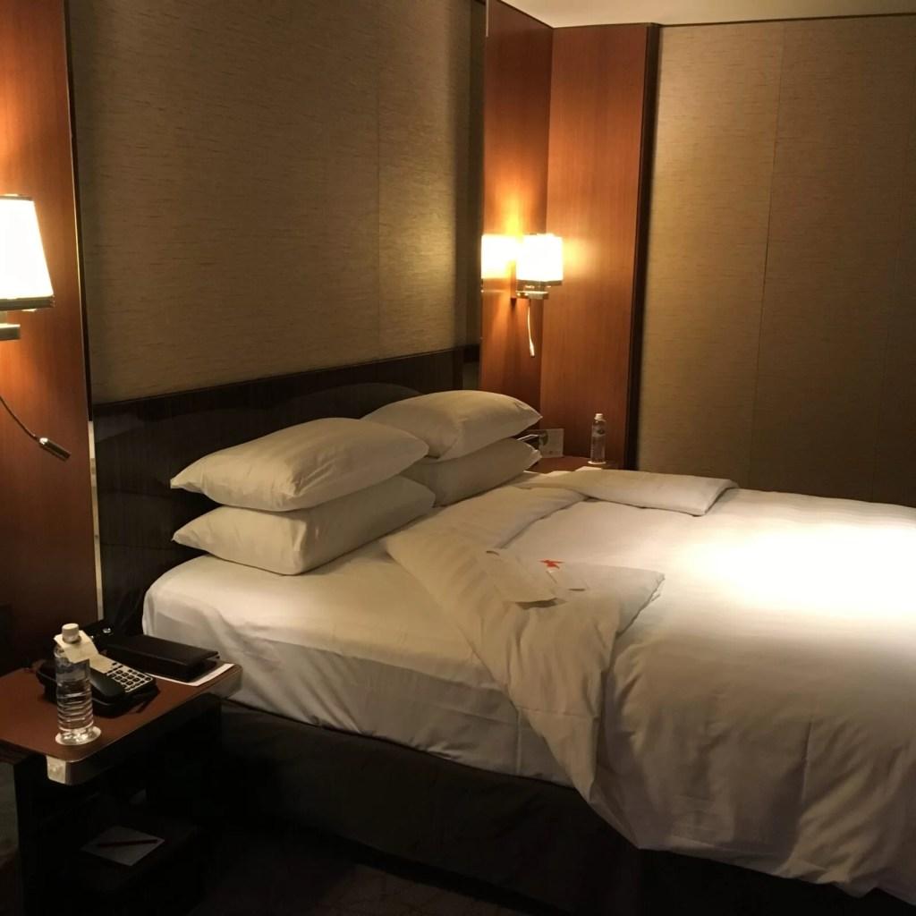 シャングリラホテル台北のホライゾンプレミアルーム3