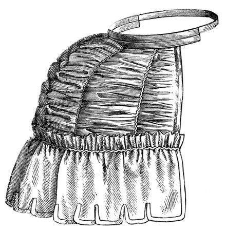 Bustle Pad, 1873