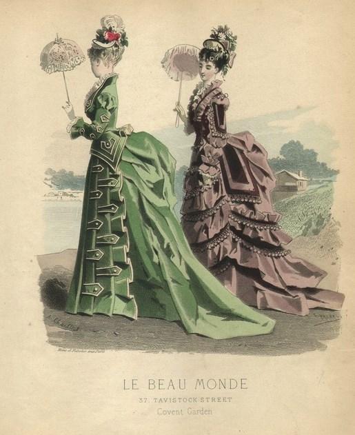 Le Beau Monde Cover, c. 1875.