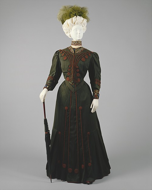 Day Dress, c. 1904 - 1905, Gustave Beer; Metropolitan Museum of Art (1999.135a–e)