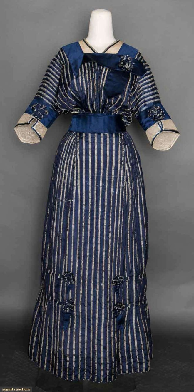 Day Dress, c. 1912; Augusta Auctions