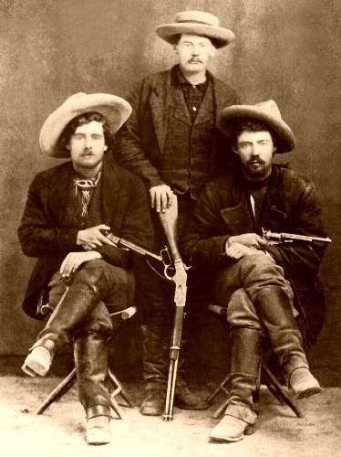 Group of outlaws- One of the more typical images but one that still fascinates.