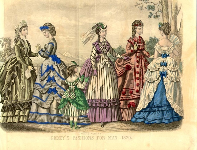 Godey's Lady's Book, May 1870
