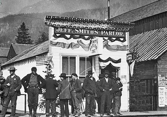Soapy Smith's Parlor, 1898