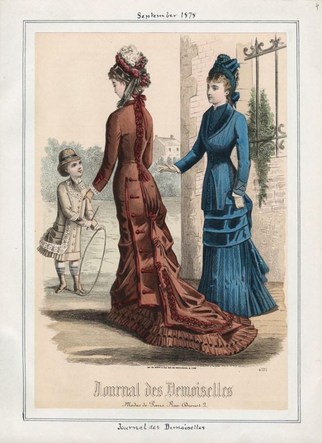 Fashion Plate 1878