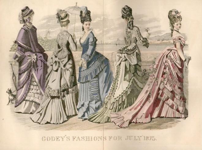 Godey's Lady's Book, July 1875