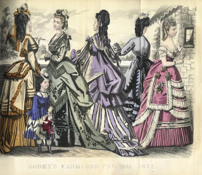 Godeys May 1872