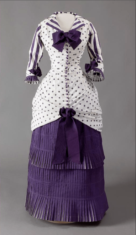 Day Dress c. 1881 Madame Bartholomé