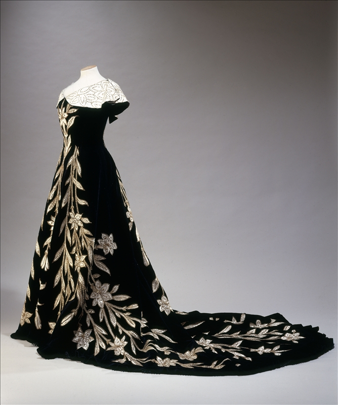 Worth Evening Dress 1896