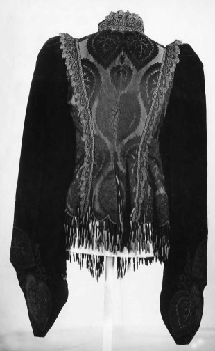 Rear View In Black & White