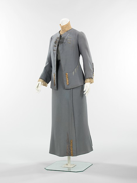 Paquin Walking Suit 1910 Front