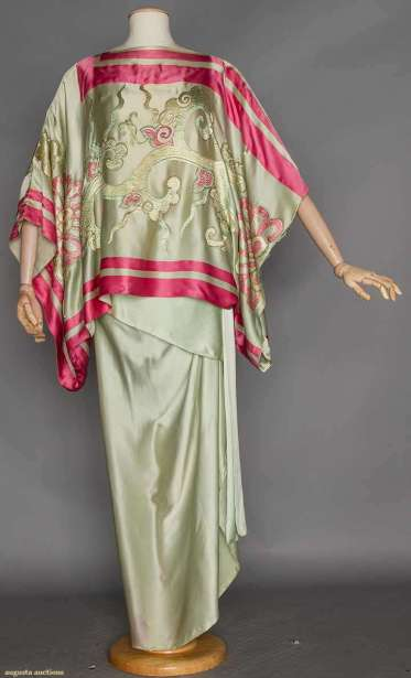 Evening Gown, Callot Soers, c. 1910 - 1914; from Augusta Auctions