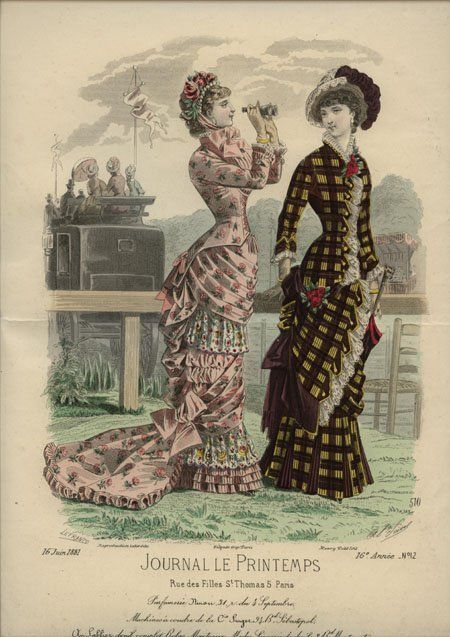 Journal Le Printemps June 1881