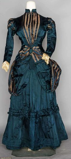 Day Dress 1880s