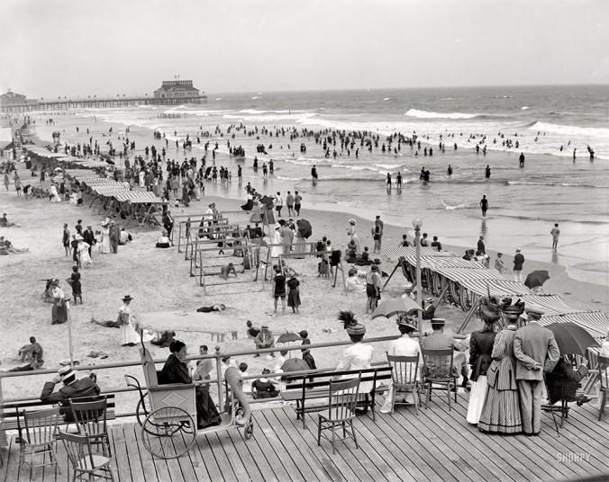 Atlantic City Boardwalk c. 1900s