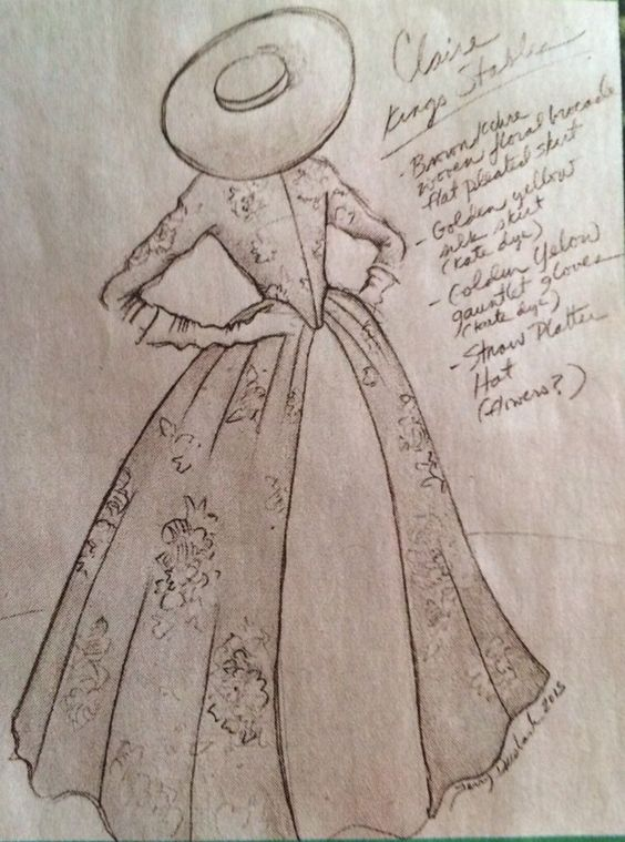 Outlander Costume Sketch1