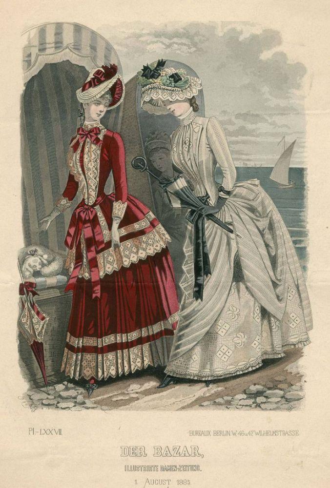 Der Bazar August 1 1885