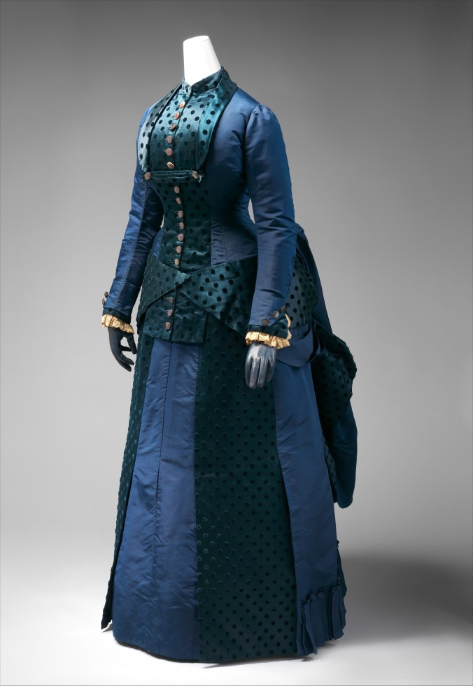 Day Dress Early 1880s