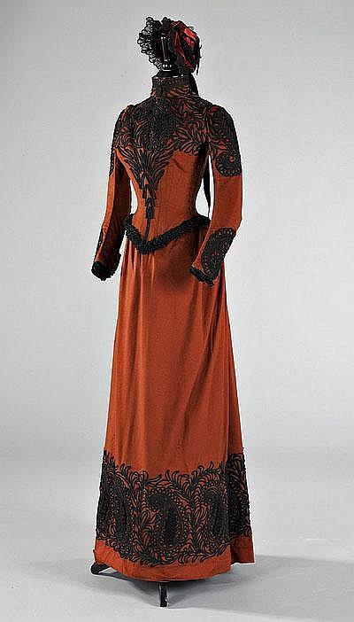 Redfern Walking Dress c. 1889