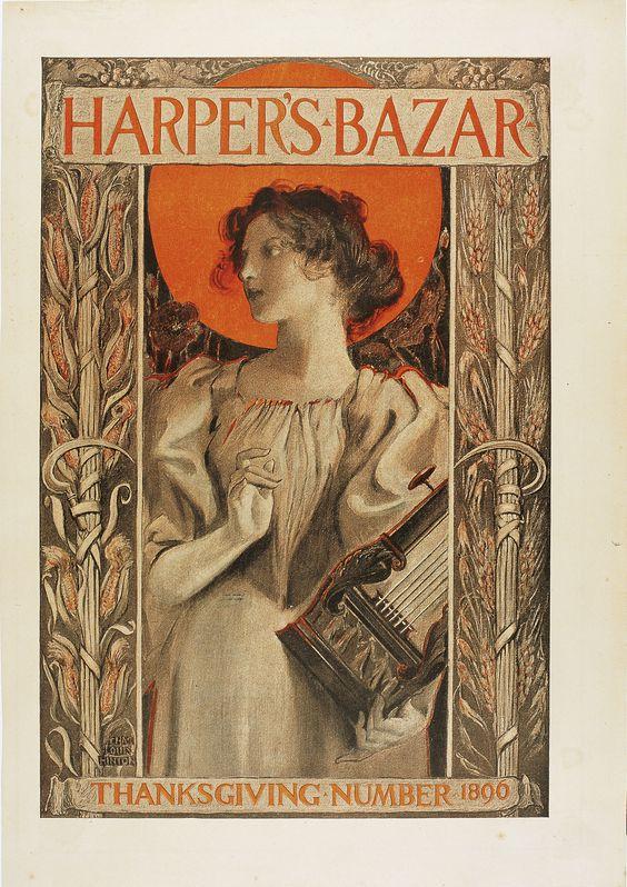 Harper's Bazar Thanksgiving 1890