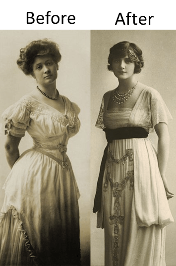 Corset Before and After Poiret