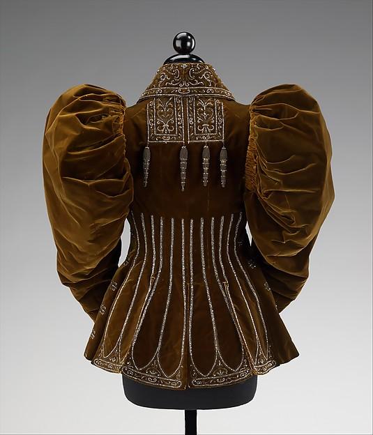 Afternoon Jacket Worth 1895