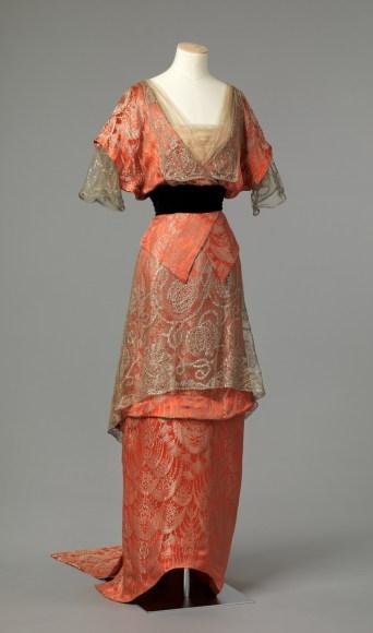 Evening Dress, c. 1913 - 1914; Nasjonalmuseet (OK-1962-0008)