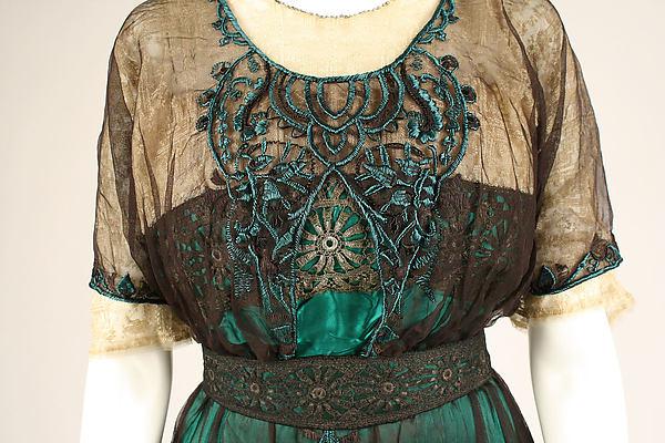 Evening Dress c. 1909