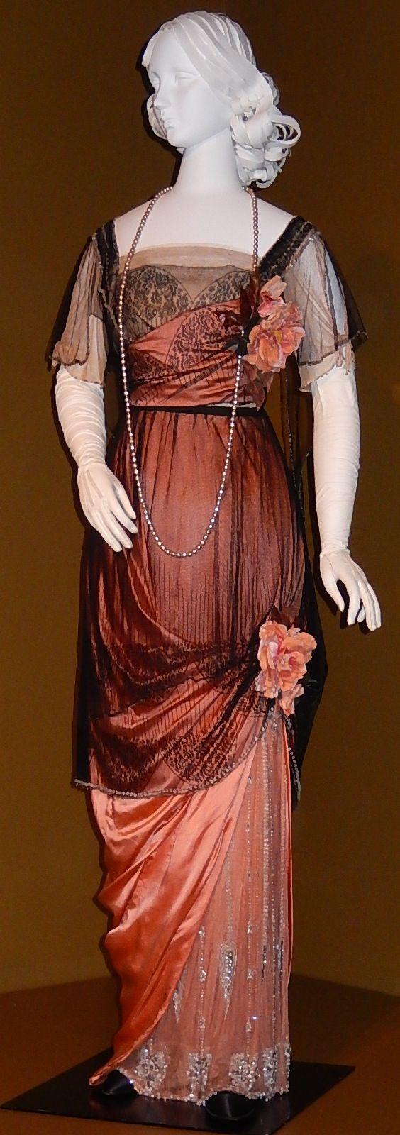 Evening Dress Jeanne Paquin 1912