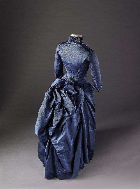 Reception Dress Day Dress  c. 1885