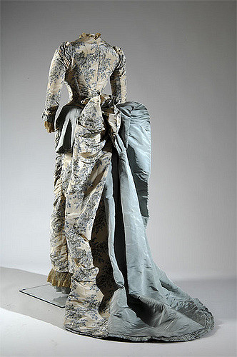 Worth Evening Reception Dress 1883