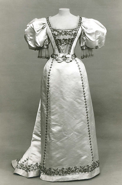 Evening Dress Worth c. 1895 - 1896