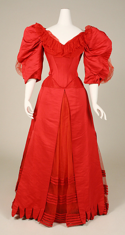 Worth Ball Gown c. 1896