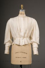 Shirt Waist, c. 1890s; FIDM Museum (2003.793.7AB)