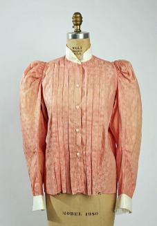 Shirt Waist, c. 1896 - 1898; Metropolitan Museum of Art (C.I.59.32.4)