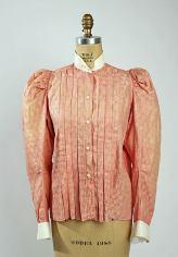 Shirt Waist, Cotton c. 1896 - 1898; Metropolitan Museum of Art (C.I.59.32.4)