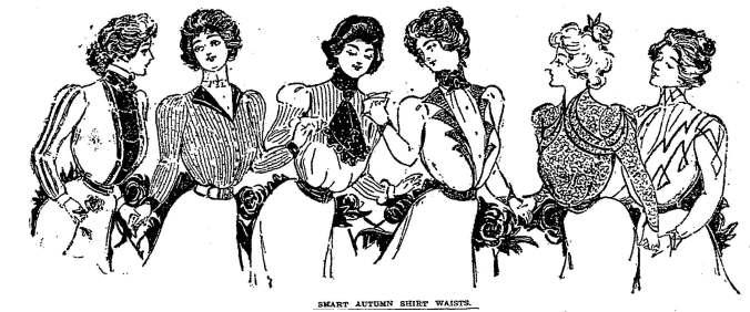 Shirt Waists 1898
