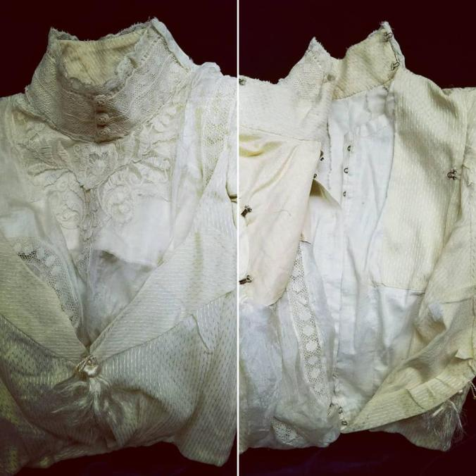 Shirt Waist 1898 Lily Absinthe Collection