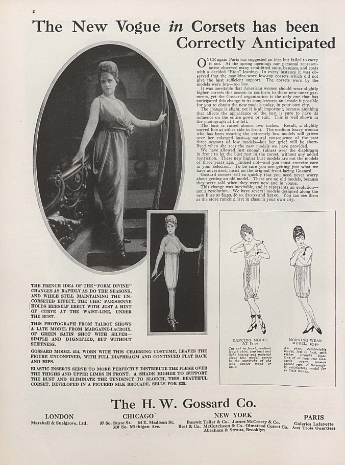 Vogue Aug 15 1914_Corset Ad