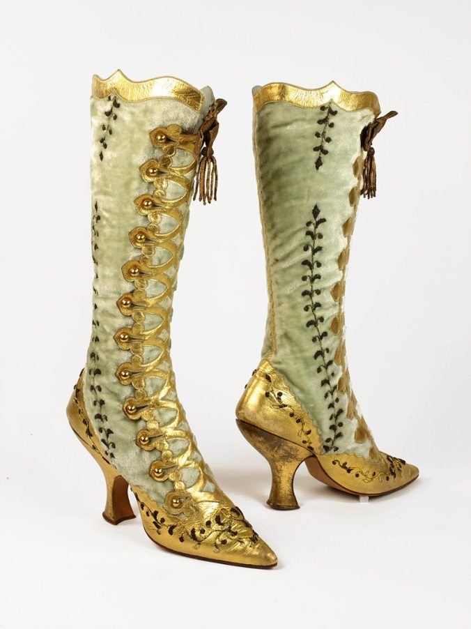 Footwear Boots c. 1890s