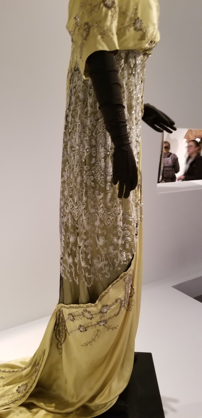 Evening Gown Gustave Beer c. 1912-1913