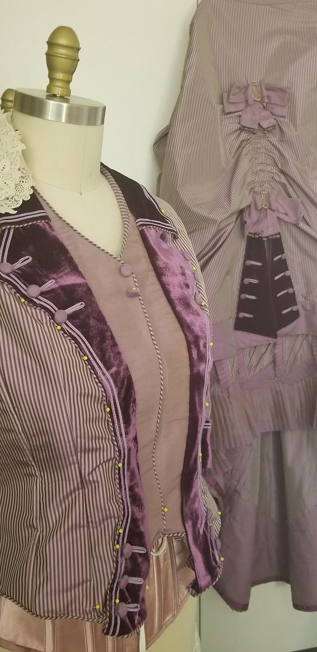 Karin Bodice 1880 Day Dress
