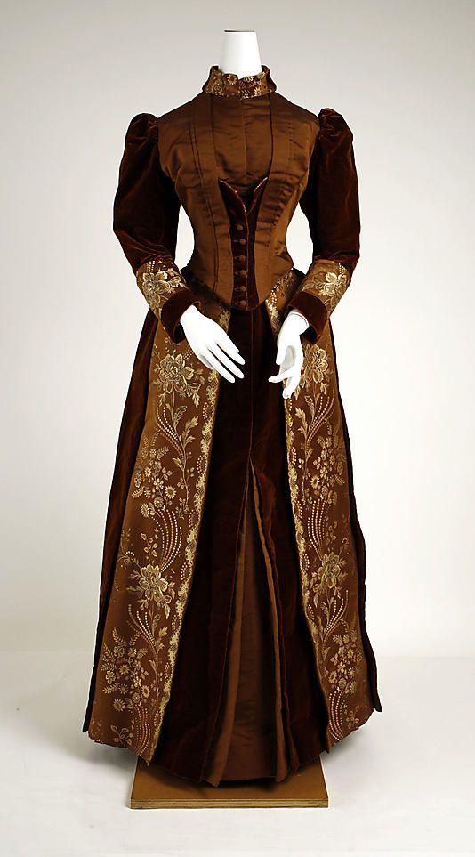 Visiting Dress c. 1889