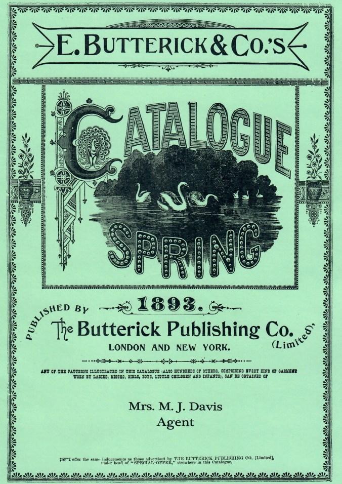 Butterick_Spring 1893 Pattern Catalog Tea Gown