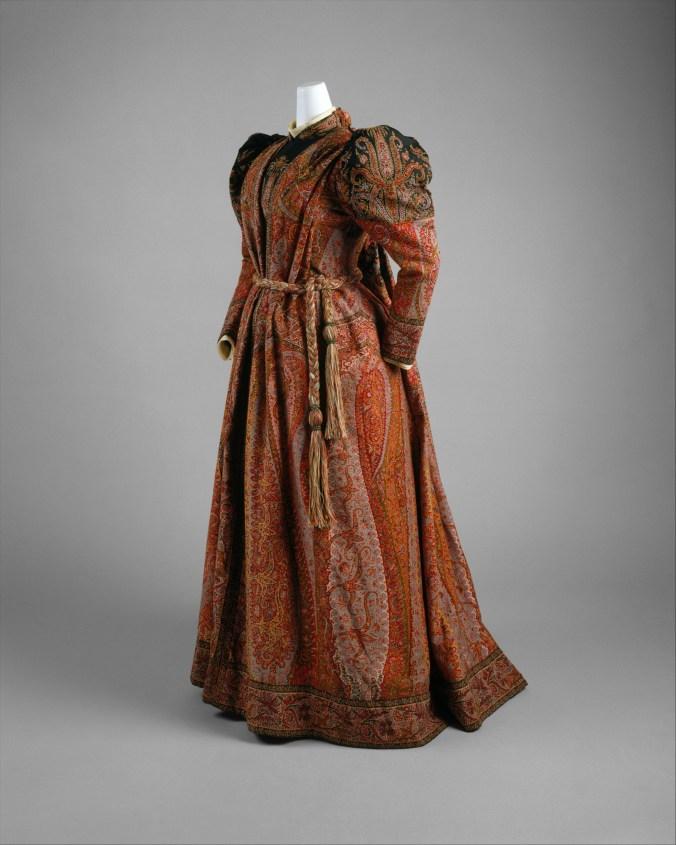Tea Gown c. 1891