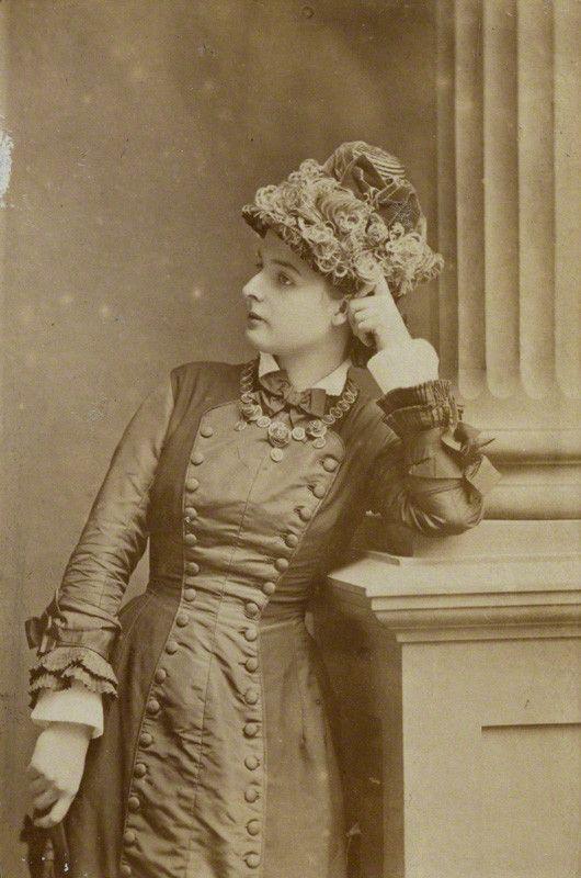 Portrait Princess Line Day Dress c. 1878 - 1881