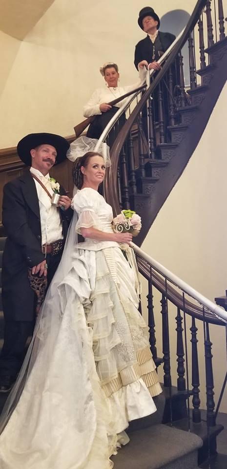 Wedding Dress Tombstone c. 1881