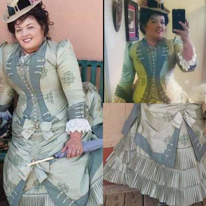 Karin Montage 1870s Day Dress
