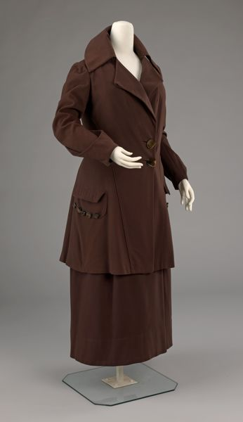 Walking Suit Redfern c. 1910
